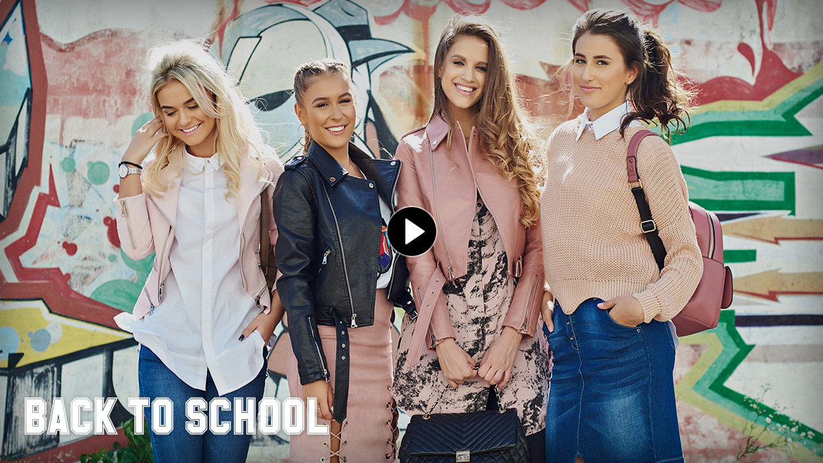 Back to School - Pantaloni, cu dungi